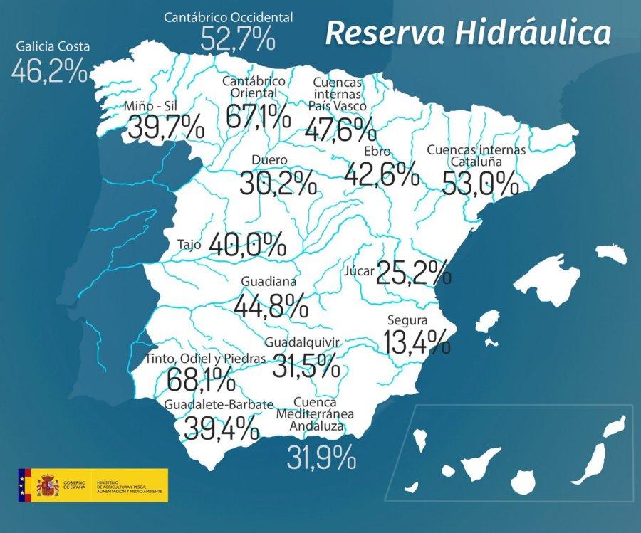 mapa sequía
